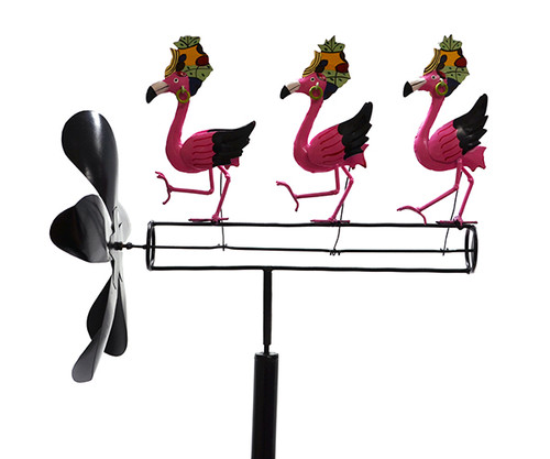 Gift Essentials Dancing Flamingo Whirligig GEBLUEG110