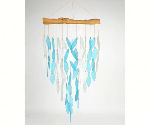 Gift Essentials Blue Waterfall Wind Chime GEBLUEG376