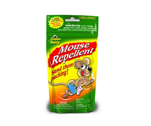 Shake Away Mouse Repellent Pack 4 1.5oz SHAKE4152424