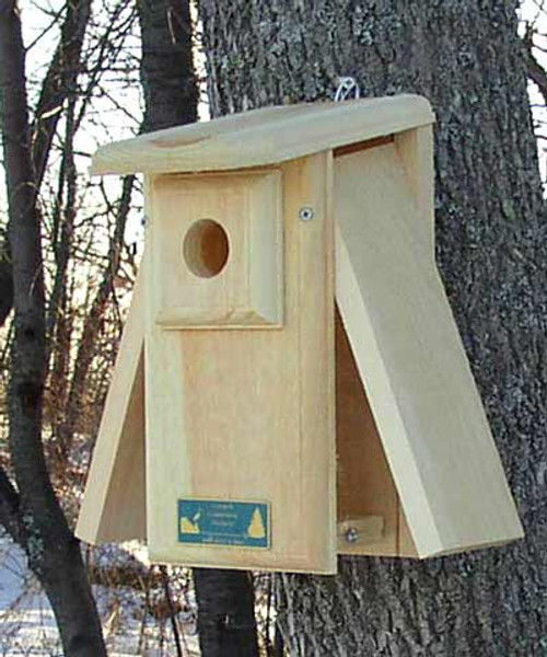 Coveside Conservation Premium Two-Sided Observation Bluebird House COV-10058