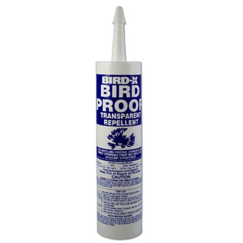 Bird X Pigeon Bird Proof Gel Non Toxic Bird Roost Repllent 10 oz. Tube