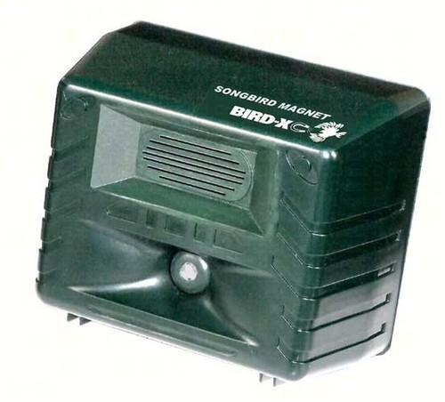 Bird-X Songbird Magnet Electronic Bird Purple Martin Caller Sounds & Songs BIRDXSBM