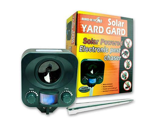 Bird X Solar Pest Animal Yard Gard Repeller BIRDXYGSOLAR