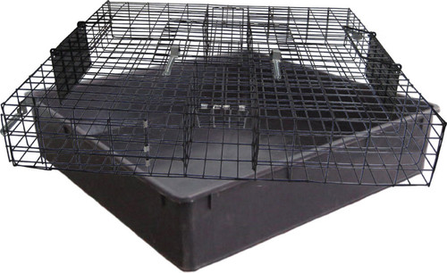 Rugged Ranch SQR The Squirrelinator Live Squirrel Trap With Basin