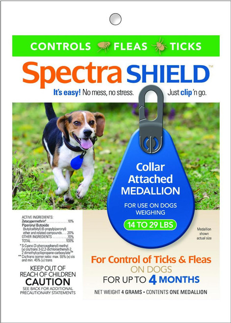 Durvet - Flea And Tick  D - Spectra Shield For Dogs