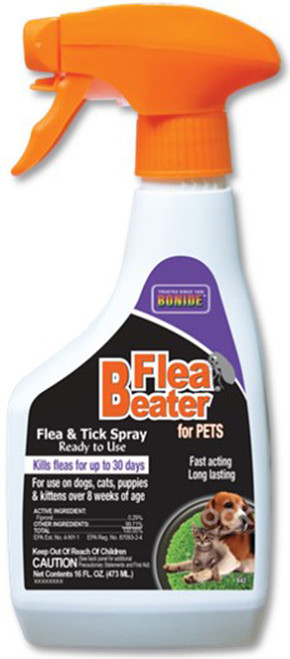 Bonide Products Inc     P - Flea Beater Pet Flea & Tick Spray Ready To Use