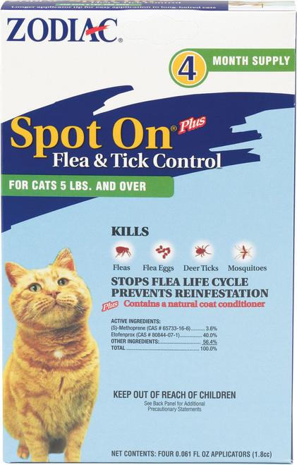 Farnam Pet - Zodiac Spot On Plus For Cats