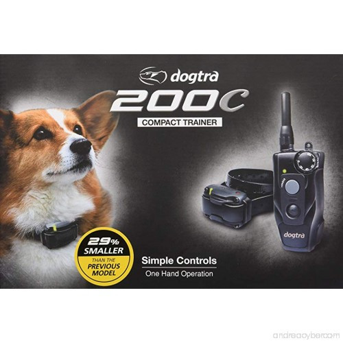 Dogtra 200C 1/2 Mile Compact Dog Training Collar System