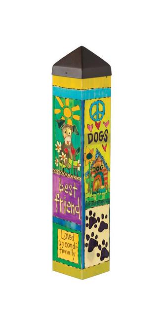 Studio M Everyday Dog Lover 20 inch Garden Art Pole