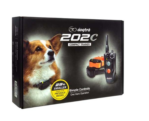 Dogtra 202C 1/2 Mile 2 Dog Compact Dog Training Collar System by Dogtra
