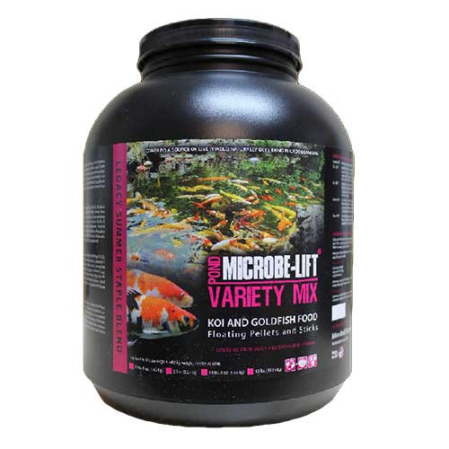 Microbe-Lift Variety Mix 5 lb Koi & Goldfish Food MLLVMLG