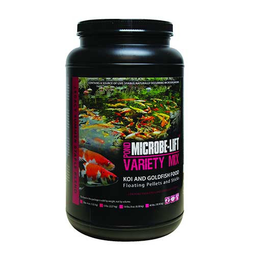 Microbe-Lift Variety Mix 2 lb 4 oz Koi & Goldfish Food MLLVMMD