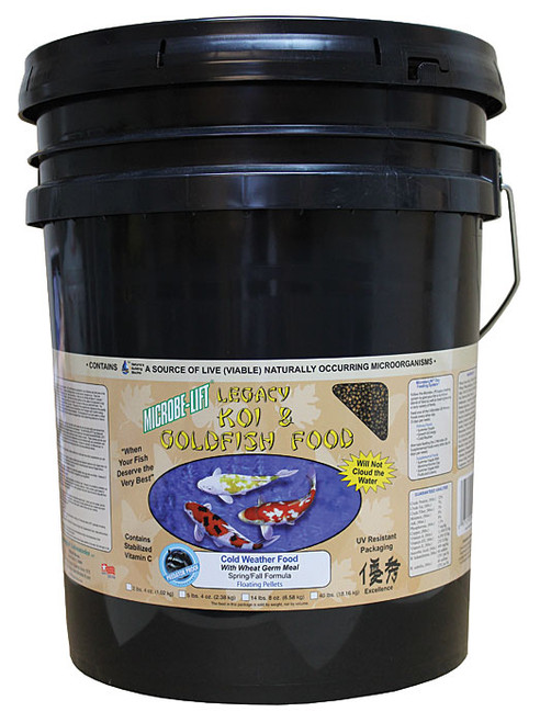 Microbe-Lift Legacy Wheat Germ Cold Water Koi Food 14 lbs 8 oz