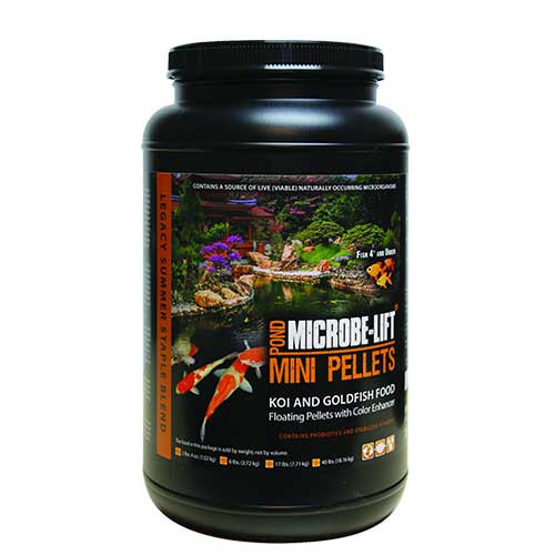 Microbe-Lift Mini Pellet Koi & Goldfish Food 2 lbs 4 oz MLLMPMD