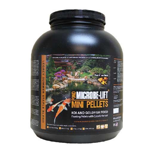 Microbe-Lift Mini Pellet Koi & Goldfish Food 6 lbs MLLMPLG