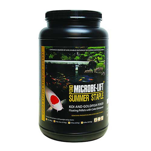 Microbe-Lift Summer Staple Koi Food 2 lbs MLLSSMD