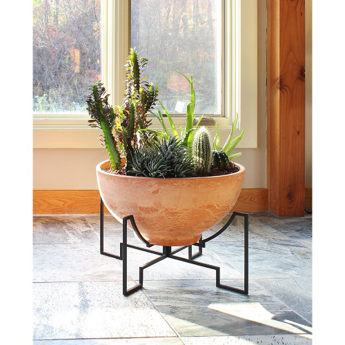 Achla Designs Solaria Collection 22 inch Jane Planter 2 with Stand