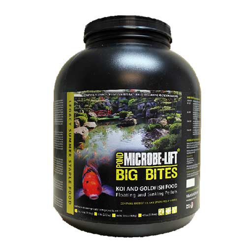 Microbe-Lift Legacy Big Bites Koi & Goldfish Food 6 lbs MLLBBLG