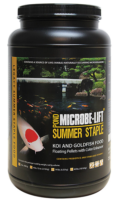 Microbe-Lift Summer Staple w/ Montmorillonite Clay 13 lbs   MLLIXL