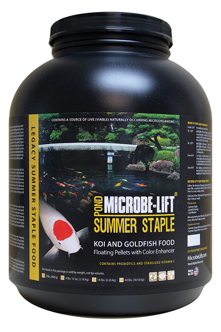 Microbe-Lift Summer Staple w/ Montmorillonite Clay 40 lbs MLLIBAG