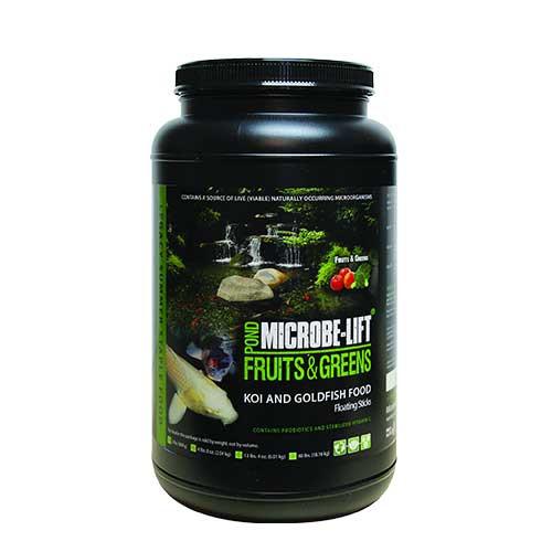 Microbe-Lift Legacy Fruits & Greens Koi Food 2 lbs MLLFGMD