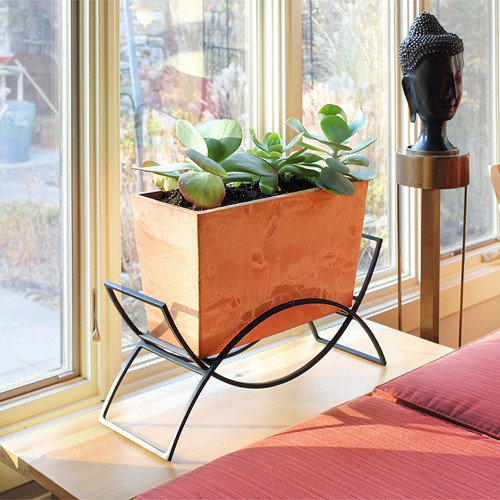 Achla Designs Solaria Collection Odile Planter with Stand