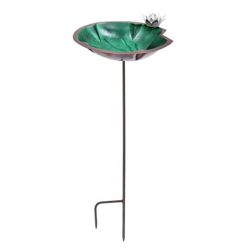 Achla Designs Lily Pad Birdbath Bowl and Stake