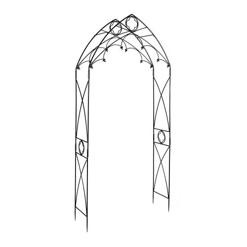 Achla Designs Garden Arch Quatrefoil Arbor ARB-07