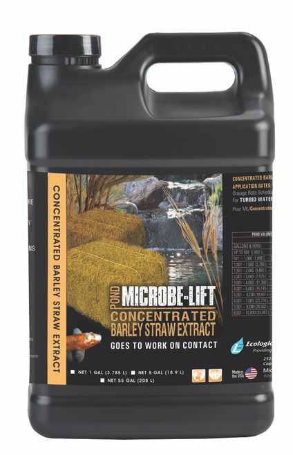 Microbe-Lift Barley Straw Extract 5 gal. MLCBSE5G Liquid Concentrate