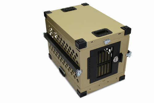 Medium Impact Collapsible Dog Crate GVFoldCrate-M