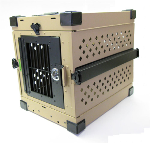 Small Impact Collapsible Dog Crate GVFoldCrate-S