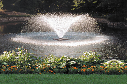 Scott Aerator DA - 20 Display Pond Aerator Fountain 1 1/2 HP 230V With 250 ft. Power Cord 14022