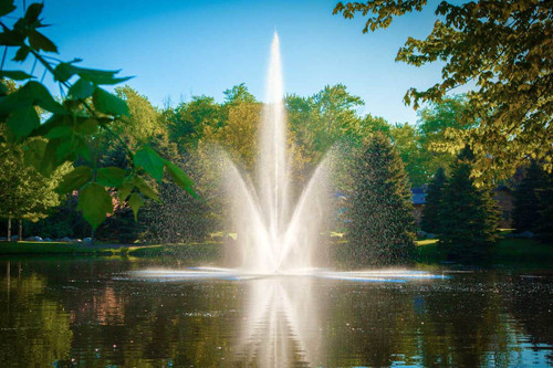 Scott Aerator Atriarch Floating Fountain 1 1/2 HP 230 V With 100 ft. Power Cord 13015 Additional cord lengths available 125', 150', 175', 200' & 250'.