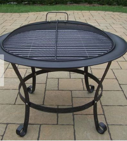 Oakland Living Fire Pits Cast Iron Wood Burning Fire Pit OAA1791