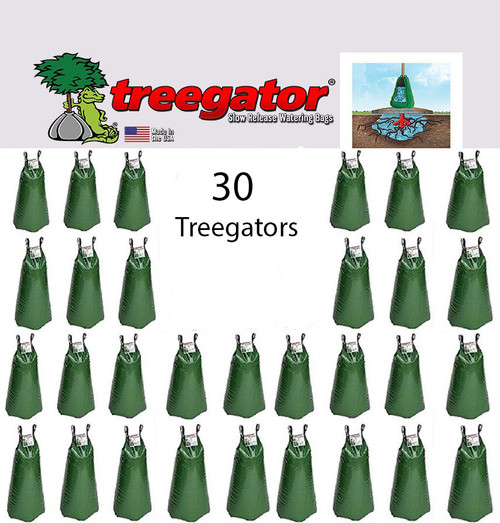 30 PACK Treegator Slow Release Drip Irrigation Watering Bag System 20 Gallon 98183 The Original Made in the U.S.A