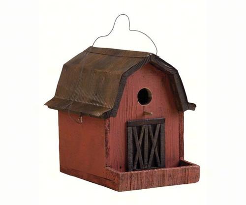 Songbird Essentials Little Red Barn Birdhouse SE925