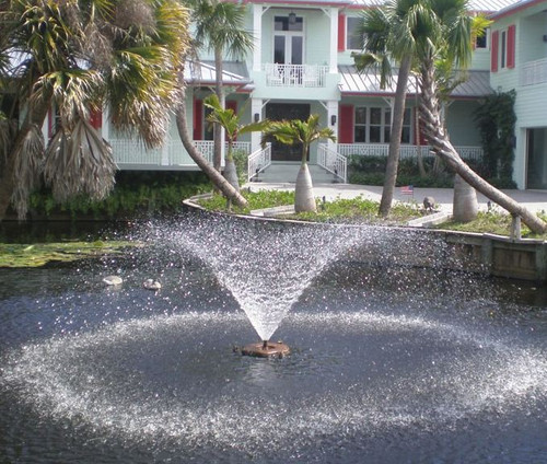 Kasco 2.3VFX 2 HP VFX Series Aerating Pond Fountains with Float, Control Panel and 50ft. to 400ft. Power Cord Lengths