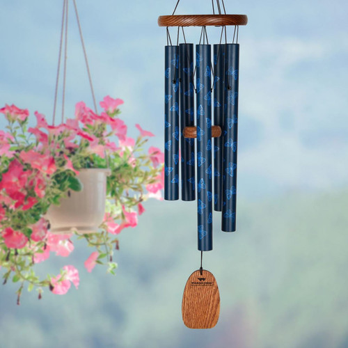 Woodstock Chimes Butterfly Garden Chime WOODGCB