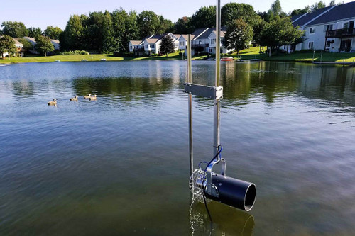 Scott Free-Standing Pond Post for Aquasweep and De-Icer Products