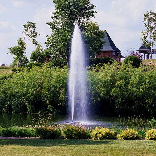 Kasco Marine 7.3JF 7.55 HP, 240 Volt, 3 Phase J Series Decorative Pond Fountain with Float, Control Panel and 100Ft. to 400 Ft. Power Cord Lengths