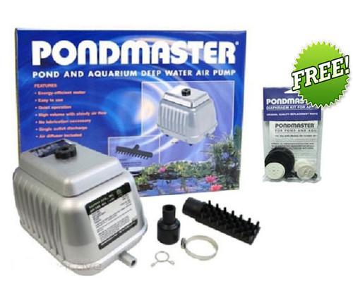 Pondmaster AP 20 Air Pump 04520 Pond Aerator FREE Diaphragm Kit
