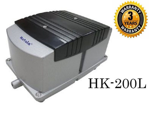 Matala Hakko HK200L Linear Air Pump Pond Aerator
