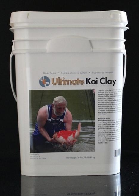 Ultimate Koi Clay 20 lbs. UKC20