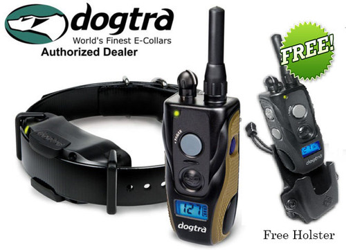 Dogtra 1900S Waterproof Remote Dog Training Collar System 3/4 Mile Free Kydex Holster