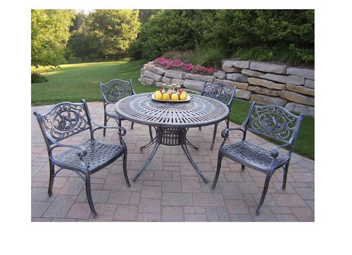 Oakland Living Sunray Hummingbird Dining Set without Cushions