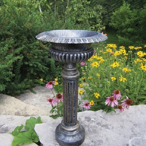 Oakland Living Pedestal Plant Stand (2 Finish Options)