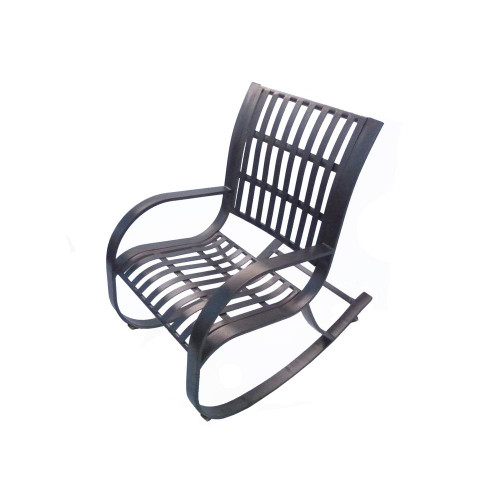 Oakland Living Noble Metal Outdoor Rocking Chair
