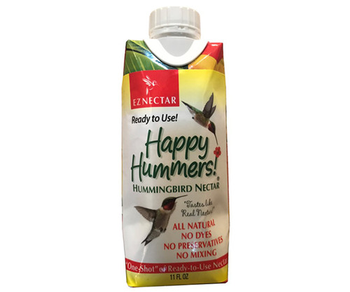 EZ Nectar All-Natural Hummingbird Nectar 11oz