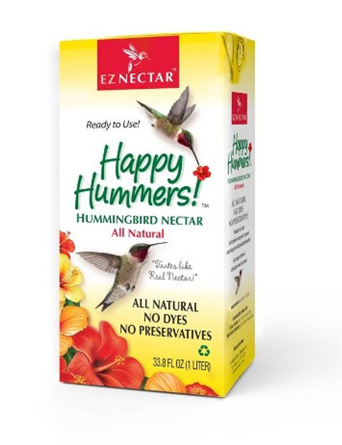 EZ Nectar All-Natural Hummingbird Nectar 33.8 oz
