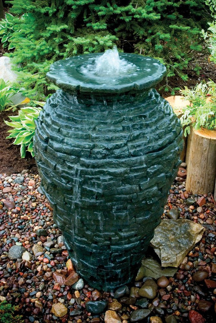 Aquascape Medium Stacked Slate Urn 78207